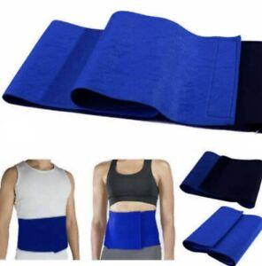 Neoprene unisex Lower Back Waist Support for Pain Slimming Belt Body Brace UK