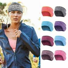 Women Men Winter Ear Warmer Head Band Fleece Ski Cycling Muff Band CL Runn M3L8
