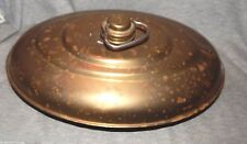 BRASS BED FOOT WARMER Hot Water Bottle Container Antique Vintage Screw Cap
