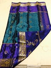Bangladeshi Soft silk katan sari with lightly golden woven works