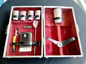 VTG Executair 880 Trav-L-Bar Ever Wear Portable Travel Bar Liquor Case