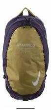 Nike x Undercover GYAKUSOU Unisex Lightweight Running Backpack Bag Gold Purple
