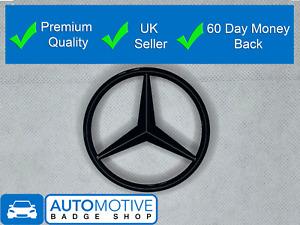 Mercedes Benz A Class Gloss Black Rear Boot Badge Star A1768170016 W176 Black A4
