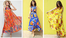 Hand-wash Only Floral Regular Size Maxi Dresses for Women