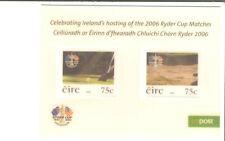 Ireland-ryder TAZZA min sheet-lenticular-moving BALL e Club!! MNH