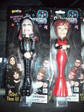 2002 Novel Toy The Osbourne Family Bobbing Head Pen  Set Of 4