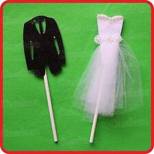 BRIDE GROOM MR & MRS CAKE TOPPER LOVE WEDDING ENGAGEMENT-PARTY-DECORATION