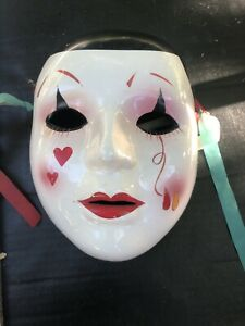 Vintage Ceramic Theater Mask 7.5 Inches