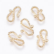 50 Pcs 12mm Gold Plated Lobster Clasps Jewellery Findings Clasp Craft i180