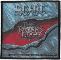 Official Merch Woven Sew-on PATCH Heavy Metal Rock AC/DC The Razors Edge