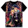 Christmas Unisex T-shirt Fairy Tail Black Summer Anime Tops Tee Short Sleeve#dff