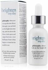 Philosophy Dark Spot Brighten My Day Skin Perfecting Serum 1 Oz Full Size! Box