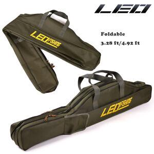 1/1.5M Waterproof Fishing Rod Bag Shoulder Pole Carry Case Tackle Tube Foldable