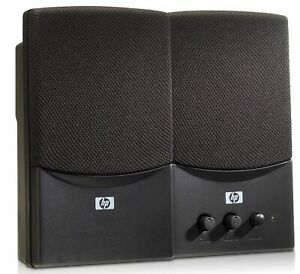 HP UC-230 USB Audio Speakers with 3.5mm Connection RD628AA PN: 431779-001*OPENED