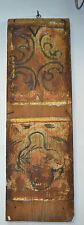 Antica Tavola Legno dipinta del 1700 Tavolo Cassapanca Carretto Siciliano