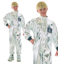 Childrens Kids Astronaut Fancy Dress Costume Space Spaceman Outfit M