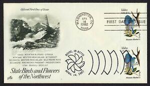 #1964 20c Idaho, Art Craft-Dual Cancel FDC ANY 4=