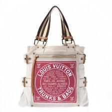LOUIS VUITTON Glove shopper white M95112 bags 800000086380000