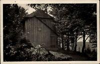 Thüringer Wald DDR Postkarte 1953 Ilmenau Goethe Häuschen auf dem Kickelhahn