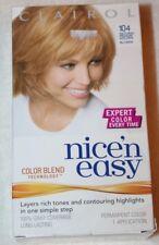 Clairol Nice 'n Easy Permanent Hair Color #104 Natural Medium Golden Blonde