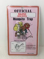 Vintage Official Nova Scotia Mosquito Trap Novelty Foothold Trap NOS Gag Gift