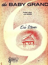 The Baby Grand Eric Steiner 1962 Piano Solo Vtg Sheet Music