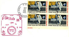 1973 Skylab III Recovery in The Pacific - Commemorative Cover with Plate Block