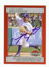 TREY McNUTT 2010 MidWest A.S.Peoria Chiefs SIGNED AUTOGRAPH Baseball Card RC