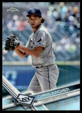 2017 Topps Chrome Refractor Chris Archer Tampa Bay Rays #177