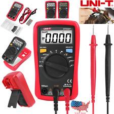 Handheld Digital Multimeter Auto Range Ac Dc Ohm Volt Tester Meter Uni T Ut33a