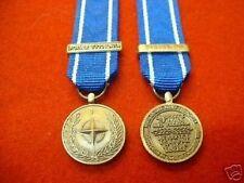 NATO Army Medals & Ribbon British Militaria (1991-Now)
