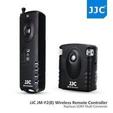 JJC II Wireless Shutter Release For Sony A6500 A6300 A6000 A5100 A5000 A3500