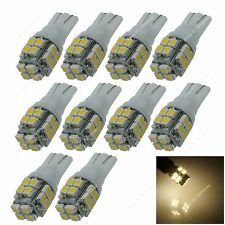 10pcs Warm White T10 W5W 20 3528 LED Car Clearance Lamp Roof Light Reading Bulb