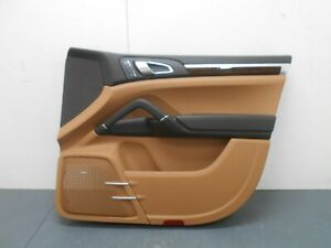 2012 11 12 13 14 Porsche Cayenne Turbo Right Passenger Front Door Panel #0513