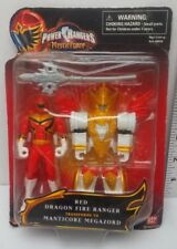 "Red Dragon Fire Ranger Power Rangers Mystic Force New 4"" Figure"