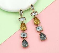 Betsey Johnson New Fashion rare Alloy Rhinestone Drop earrings Fashion Jewelry