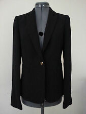 NWT G2000 Women's Blazer Business Suit Jacket Black Size 36 or Size 8 Fitted