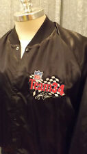 Rare VTG Walter Payton Team 34 NFL Satin Jacket sz XL Dale Coyne Racing