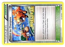 POKEMON WORLDS PROMO 2013 BW95 FESTIVAL DER CHAMPIONS in GERMAN (Allemande)