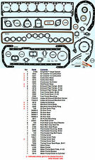 New 1936-1952 Buick 8 320 Series 60-70-80-90 Full Complete Engine Gasket Set