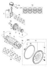 NOS Kia Sephia 97 98 99 00 01 Spectra 2000-04 Standard Flywheel 1.8L OK24711500