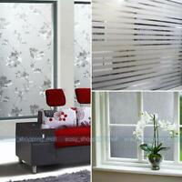 7 Style 1.5/2m Frost Privacy Window Film Cover Static Glass VINYL Self Adhesive
