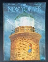 COVER ONLY ~ The New Yorker Magazine, January 1, 1979 ~ Charles Addams