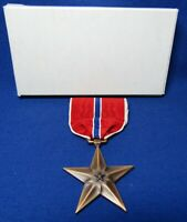 WWII Bronze Star Medal With Original Box VERY NICE CONDITION
