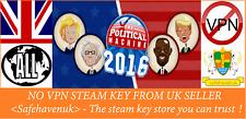 The Political Machine 2016 Steam key NO VPN Region Free UK Seller