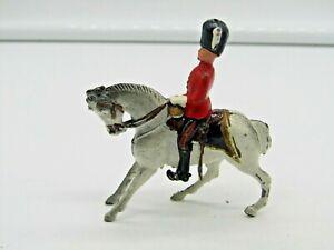 Vintage Cherilea Lead Mounted Scots Grey Depose