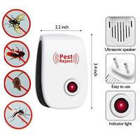 Insetticida Repellente Elettronico a Ultrasuoni Zanzare Scaccia Topi Pest Reject