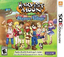 Harvest Moon: Sky Tree Village [Nintendo 3DS, NTSC, Natsume RPG Simulation] NEW