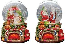 95mm Wind-Up Musical Santa Xmas Waterglobe