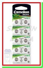 10 Pile Batterie CAMELION  AG13 LR44 A76 V13GA RW82 303/357-1W 904 G13 LR1154